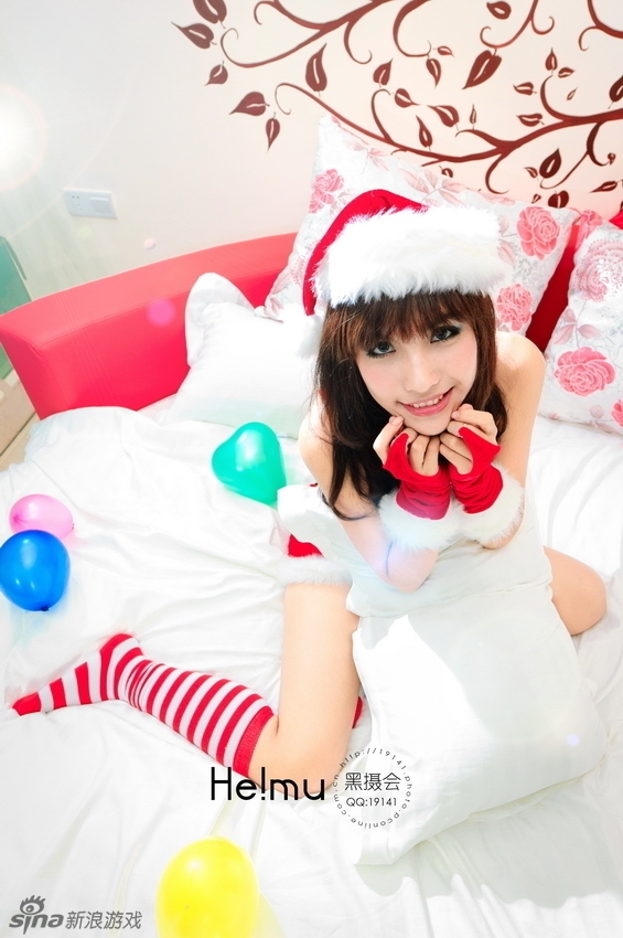 性感美女小E的圣诞前夜
