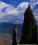 绝美的恩施大峡谷世界上最大的天坑风景图片
