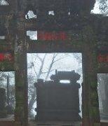 初春于青城山中小影风景秀丽