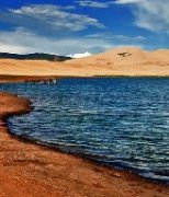 神秘青海湖高清风景图片