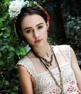 法国混血美女田园温馨照