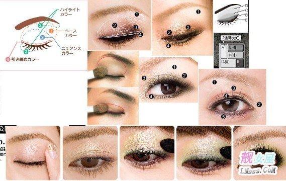 化妆误区之眼影