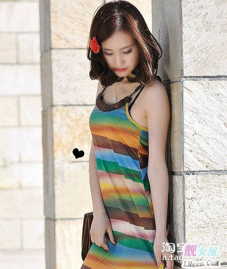 夏天显瘦连衣裙2