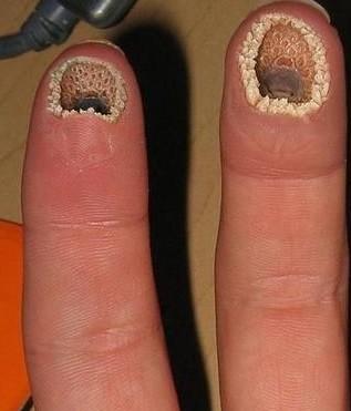 空手指图片