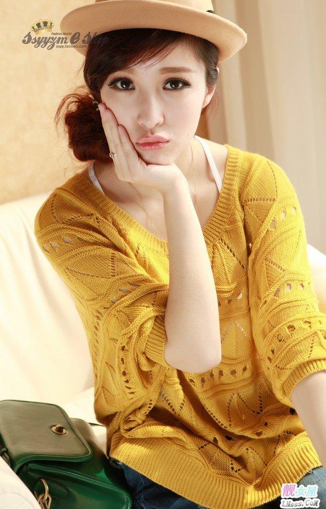 圆领针织衫2