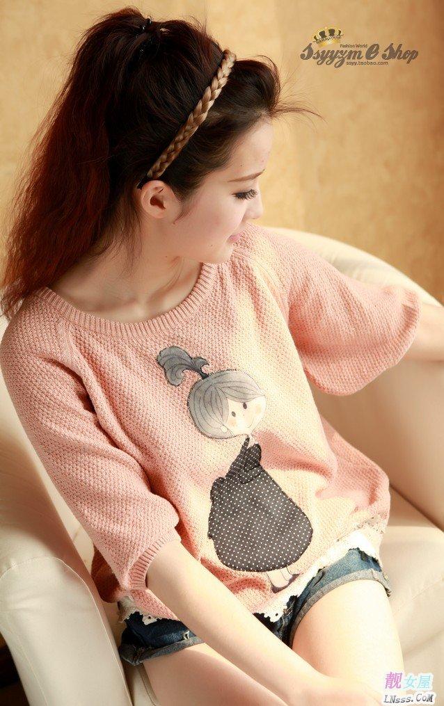韩版针织衫2