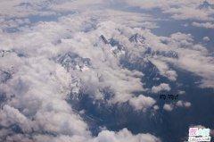 从天空下拉萨西藏高原全景图