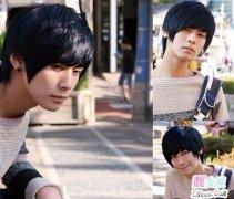 好看的韩式男士发型图片