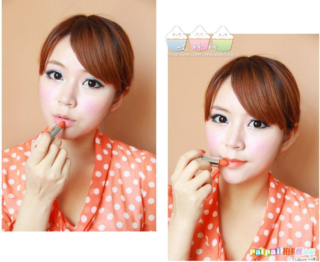 光定的女人图片_彩妆达人推荐两款纯正的唇膏 性价比超高(9)