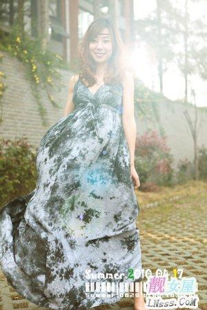 波西米亚长裙搭配3