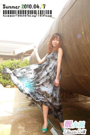 波西米亚长裙搭配1