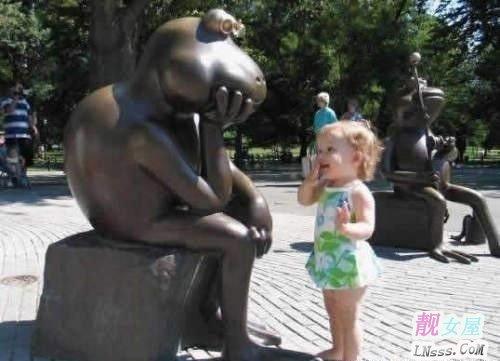 小孩搞笑图片2