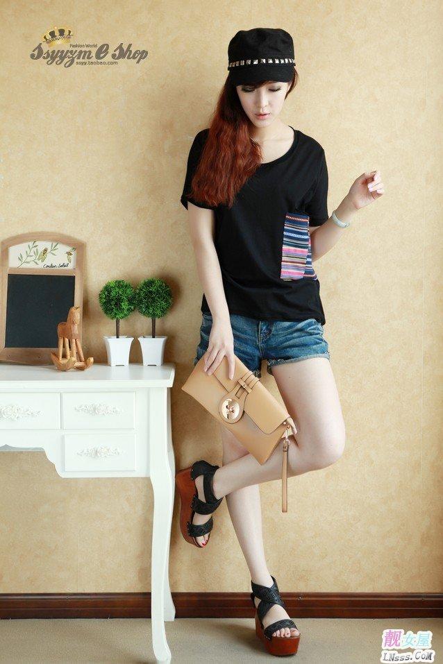 羊毛衫网_可爱的淘宝网女装夏装韩版T恤(6)