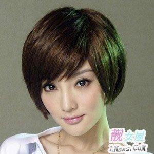 女性中短发发型1