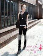 小��子女生穿衣搭配_女生身高155cm如何服�b搭配