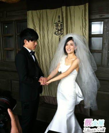 张杰和谢娜结婚照片1