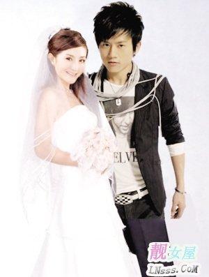 张杰和谢娜结婚照片2