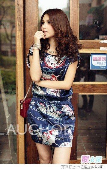 中年妇女夏季服装