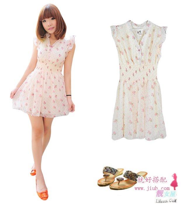 夏季连衣裙样式