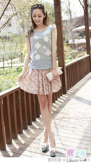 骨架大女孩夏季穿衣显瘦技巧