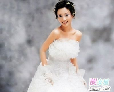 李小璐结婚照2