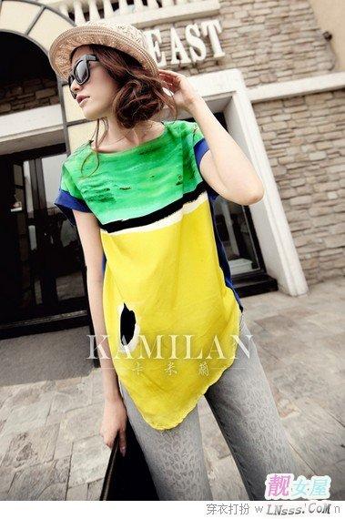 暑假韩式服饰