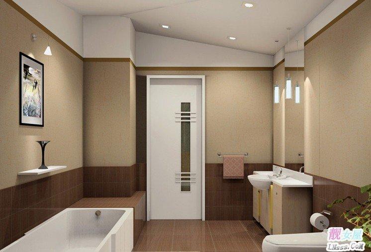 卫生间装修效果图大全2013图片