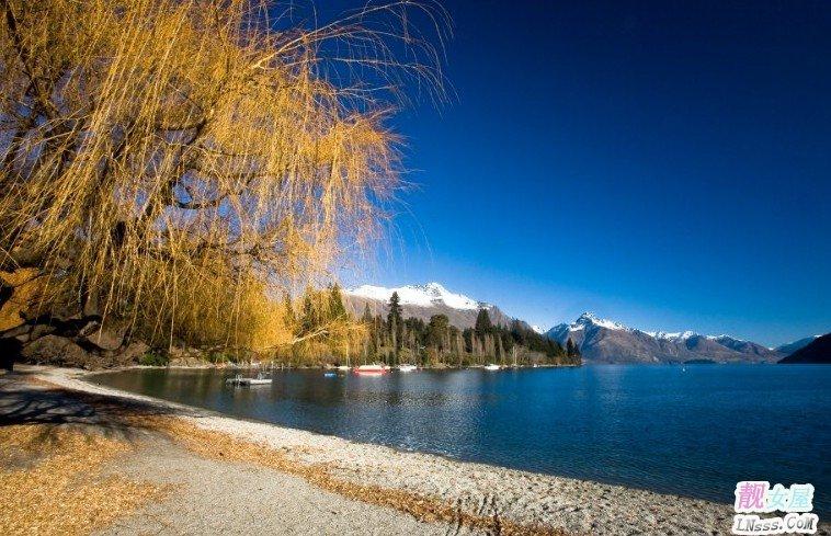 山水风景图片背景