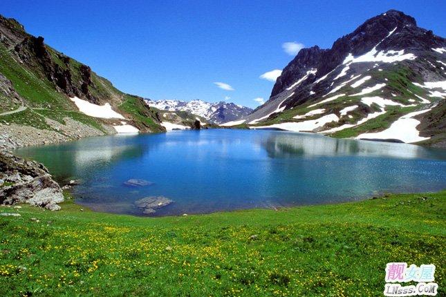 山水风景桌面背景