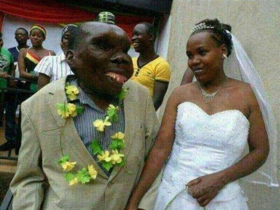 丑男人和老婆