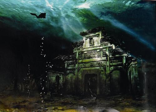 千岛湖水下古城2